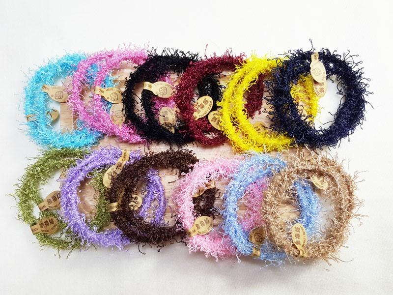 台灣製造髮束 素米粉24入