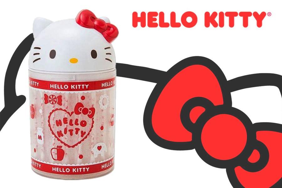 凱蒂貓 HELLO KITTY 造型棉花棒罐附60入棉花棒