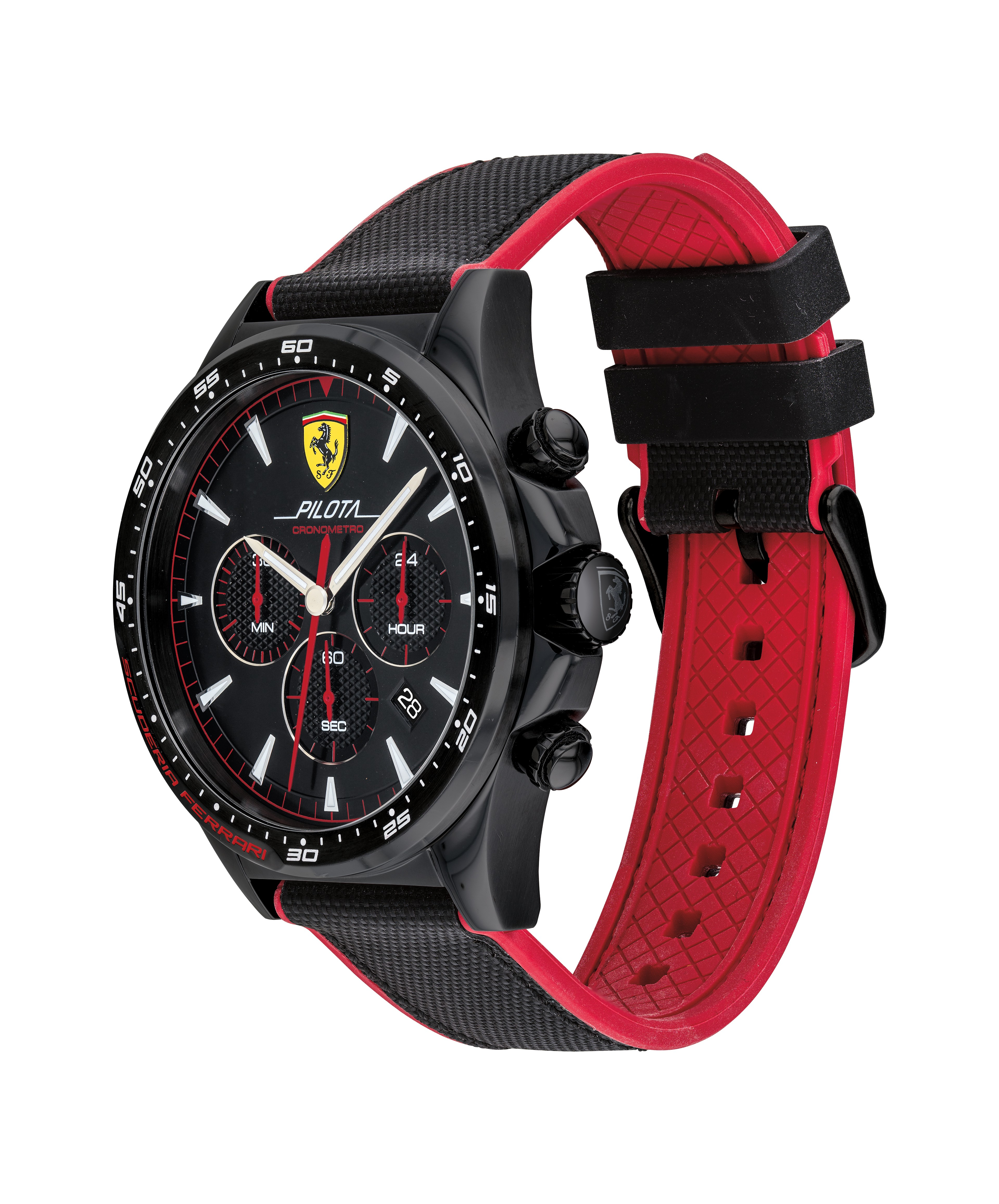 Ferrari 法拉利 Pilota 賽車手計時錶(0830623)