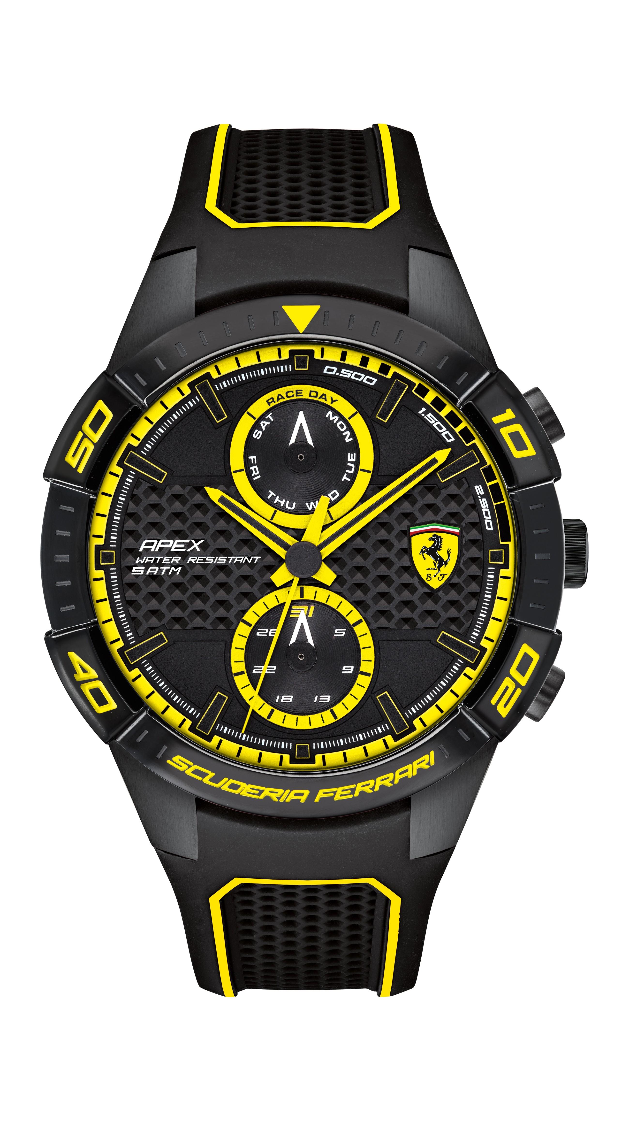 Ferrari 法拉利 APEX日曆手錶-44mm(0830633)