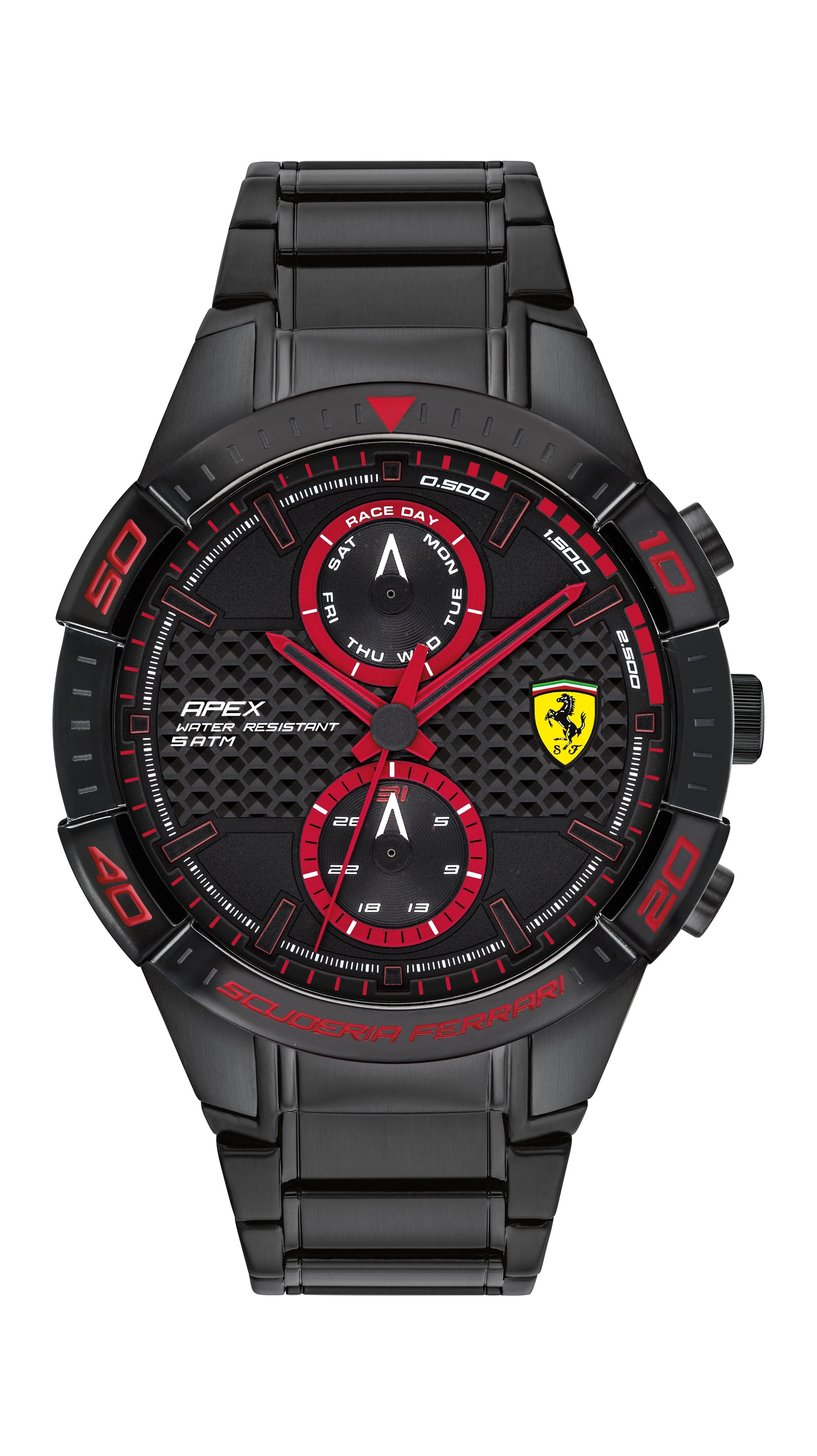 Ferrari 法拉利 APEX日曆手錶-44mm(0830635)