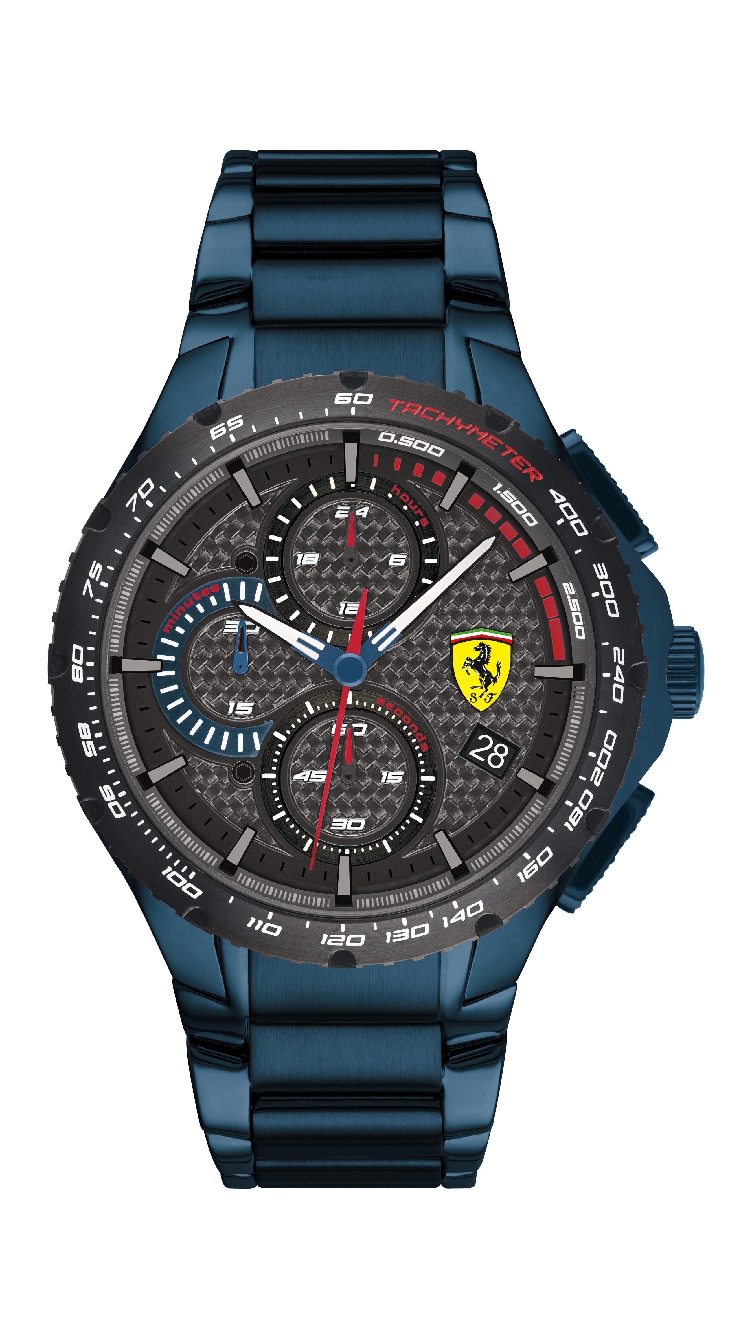 Scuderia Ferrari Pista灰色男士手錶(0830731)