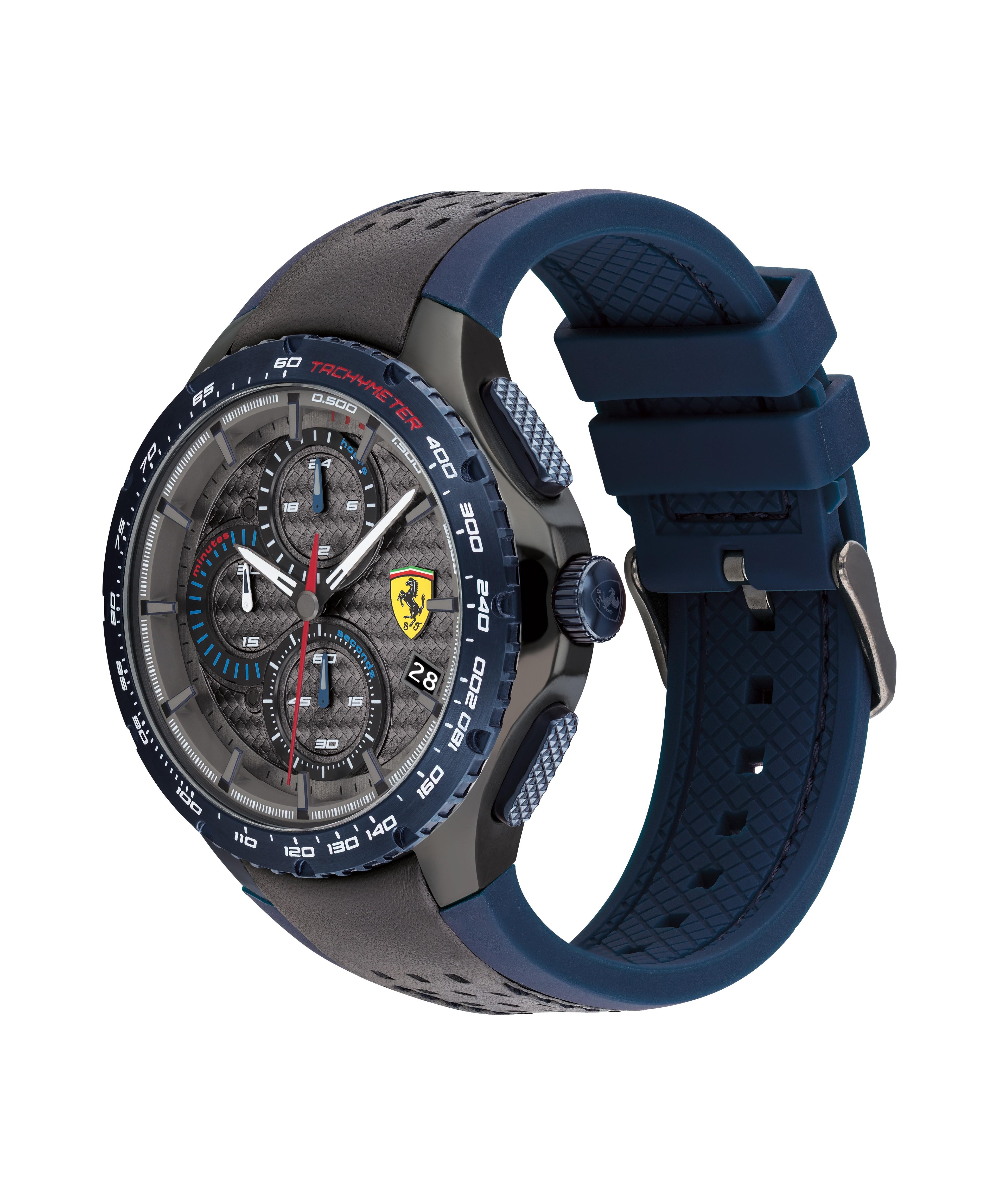 Scuderia Ferrari Pista黑色男士手錶(830734)