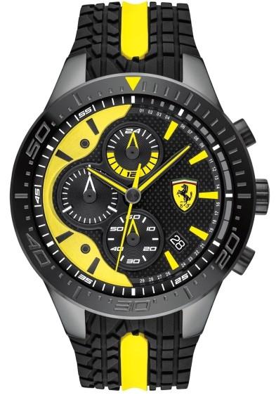 Ferrari 法拉利 Red Rev Evo 計時手錶(0830590)
