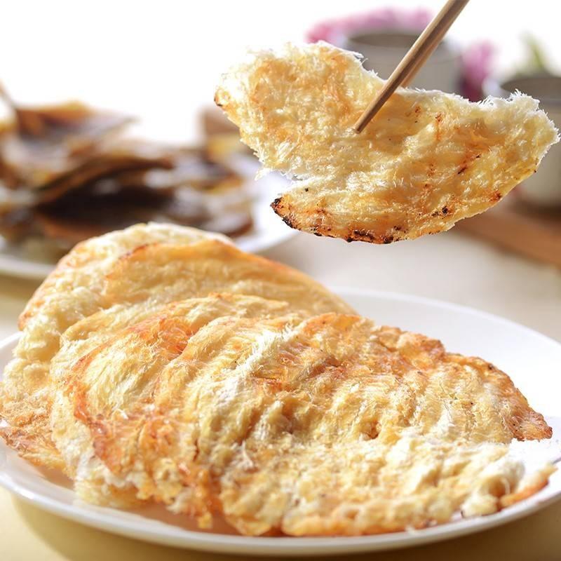 年節必吃零嘴 泰國石斑魚干 130g