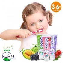 日本花王幼兒童牙膏3支入