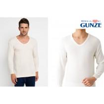 GUNZE郡是日本製混羊毛男衛衣LL