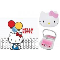 Hello Kitty 臉形鏡梳組