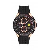 Ferrari 法拉利 RedRev Evo 計時手錶-黑/44mm(08307282)