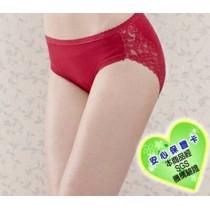6636高級精梳棉素材 糖果色系 無縫 中腰內褲
